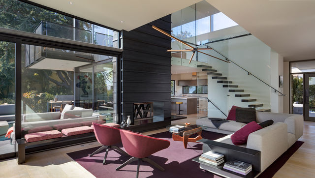 Interior of Seattle home project.